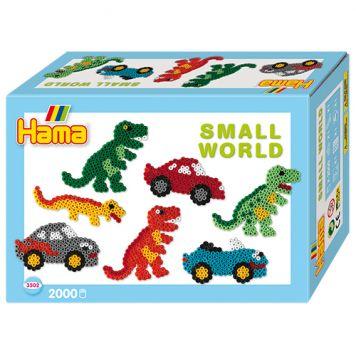 Hama Strijkkralen Dino/Auto 2000 Stuks