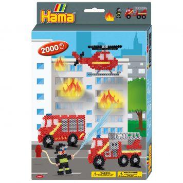 Strijkkralen Hama Brandweer 2000 Delig