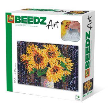SES BEEDZ ART: Strijkkralen Zonnebloemen