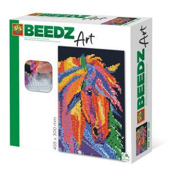 SES BEEDZ ART: Strijkkralen Paard Fantasie