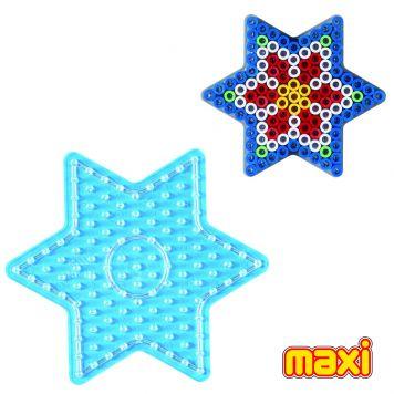 Strijkkralen Grondplaat Hama Maxi Ster