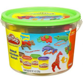 Play-Doh Animal Discovery Bucket