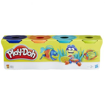 Play-Doh Klassieke Kleuren 4-Pack Assorti