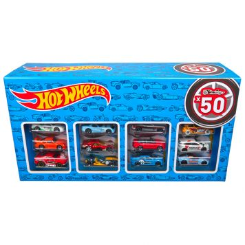 Hot Wheels Set met 50 Auto's