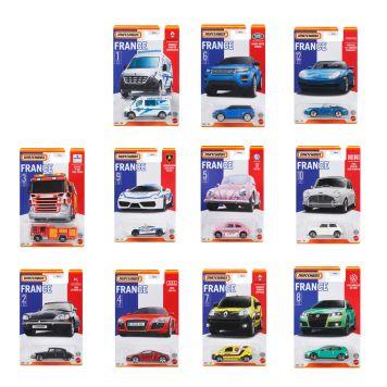 Matchbox France Vehicles Assorti