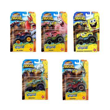Hot Wheels Monster Trucks SpongeBob Squarepants 1:64 Assorti