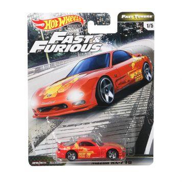Hot Wheels Diecast Fast En Furious Assorti