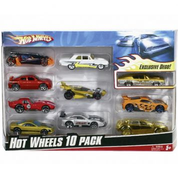 Hot Wheels Diecast 10 Pack Assorti