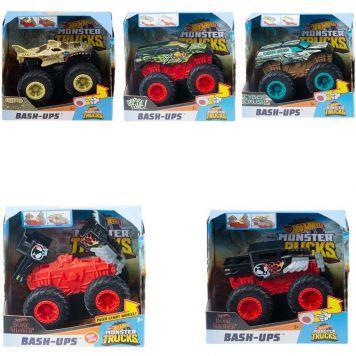 Hot Wheels Monster Trucks 1:43 Bash Ups Feature Assorti