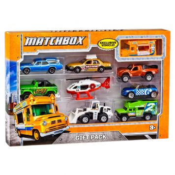 Matchbox Set Met 9 Auto's Assorti
