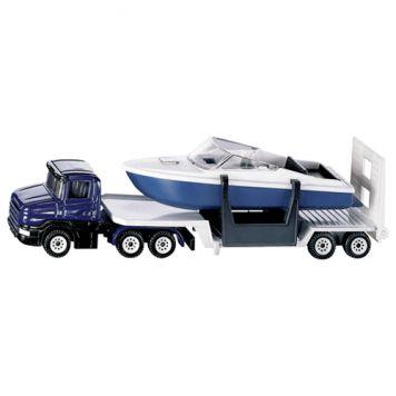 Vrachtwagen Siku Dieplader Met Boot