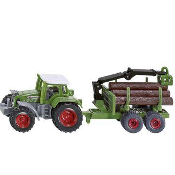 Tractor Siku Met Aanhanger - Bosaanhangwagen