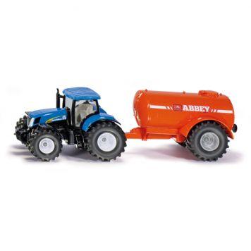 Tractor Siku Met Vacuum Tank
