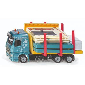 Siku Auto Transporter Met Prefab Huis