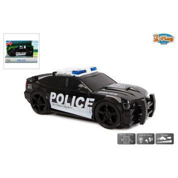 Auto Kunststof Politie USA Licht En Geluid