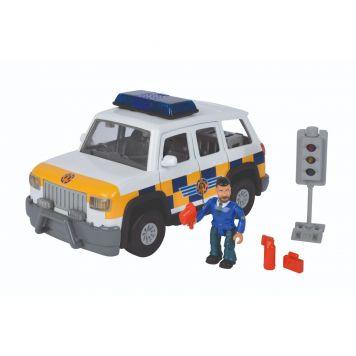 Brandweerman Sam Politieauto Met Figuur