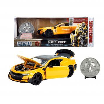 Auto Diecast Transformers Bumblebee Chevy Camaro