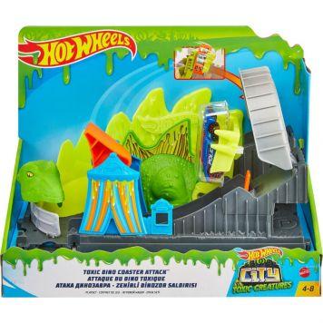 Hot Wheels City Giftige Dino Aanval