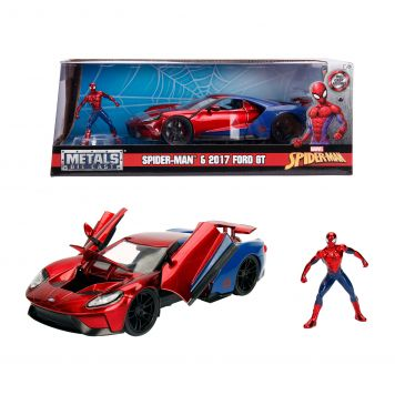 Auto Diecast Spiderman Ford GT