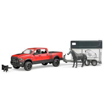 Auto Bruder Dodge RAM Met Paardentrailer