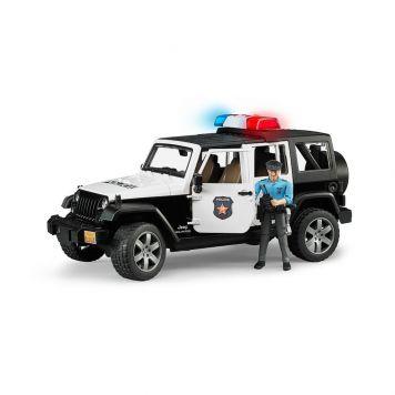 Bruder Auto Jeep Politie Wrangler Rubicon  Unlimited Licht En Geluid