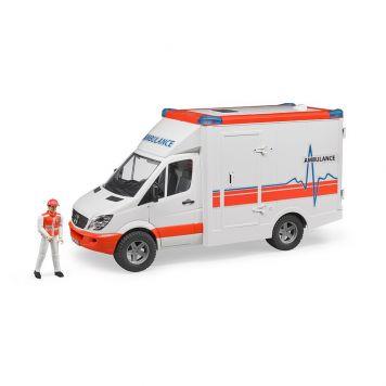 Auto Bruder Ambulance Met Chauffeur