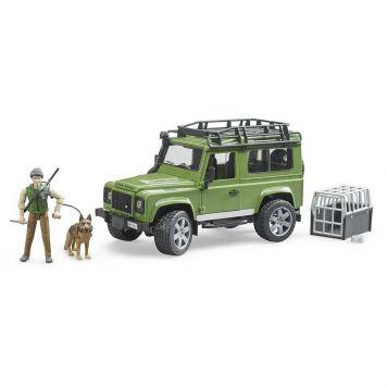 Jeep Met Boswachter En Hond
