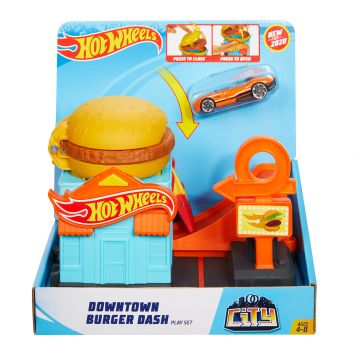 Hot Wheels City Burgergekte In De Stad Speelset