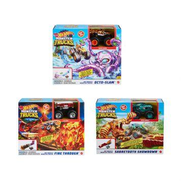Hot Wheels Monster Trucks Playset Assorti 2021  Mix 1