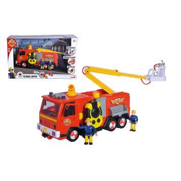 Brandweerman Sam Mega Deluxe Jupiter 2 Figuren Licht En Geluid