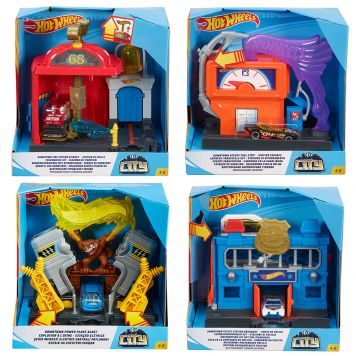 Hot Wheels City Basis Speelset Assorti