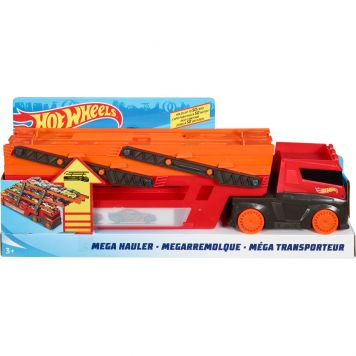 Hot Wheels Mega Red Hauler 50 Th