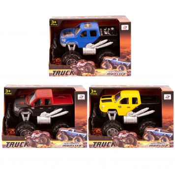 Monstertruck Frictie 3 Assorti