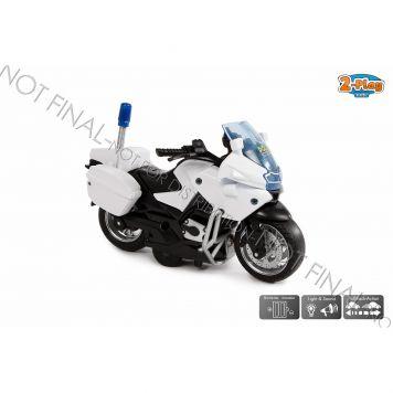 Motor Diecast Politie Pullback