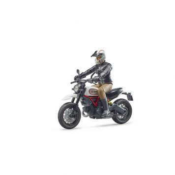 Bruder Motor Ducati Desert Met Bestuurder