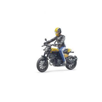 Bruder Motor Ducati Scrambler Met Bestuurder
