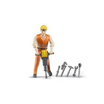Bruder Bworld Figuur Constructie Werker