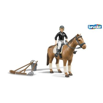 Bruder B-World Figurenset Paard
