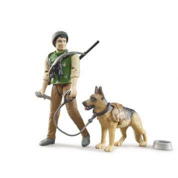 Figuur Jager Met Hond B World