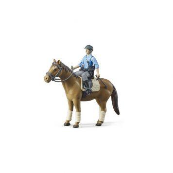 Politieman Met Paard