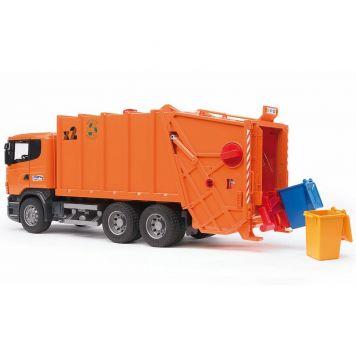 Bruder Auto Vrachtwagen Vuilnisauto Scania