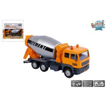 Truck Cementmixer Met Licht En Geluid