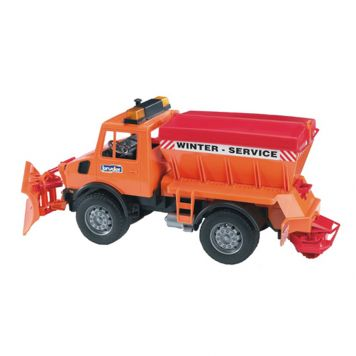 Bruder Vrachtwagen Unimog Winterdienst