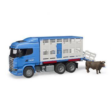 Bruder Auto Vrachtwagen Scania Diertransport