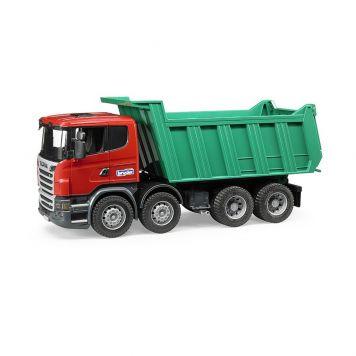 Bruder Auto Vrachtwagen Scania R-Serie Dumper