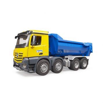 Bruder Vrachtwagen MB Arocs Halfpipe Dumper