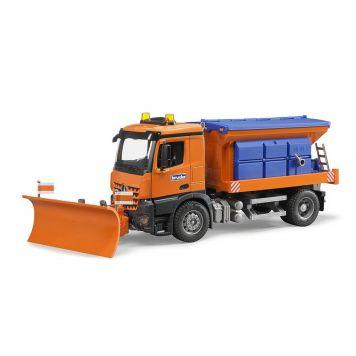 Bruder Auto Vrachtwagen MB Arocs Sneeuwschuiver