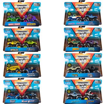 Monster Jam Die Cast Trucks 2 Pack 1:64