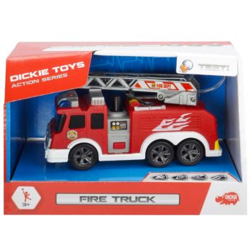 Brandweer Met Licht En Geluid En Met Spuit 15cm