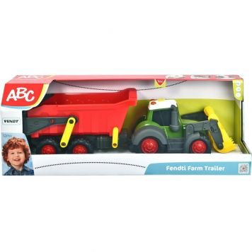 Tractor Happy Farm + Aanhanger + Geluid